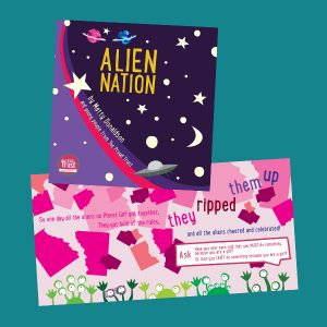 Alien Nation book - A story about gender roles, gender expectations and gender identity (KS2)