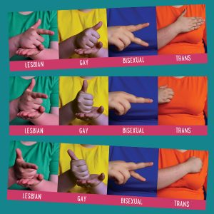 Sign Language Bookmark